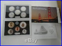 10 2018 S Silver Reverse Proof Sets Sealed Unopened Box FIRST STRIKE ELIGIBLE