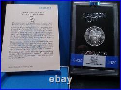 1884-CC MS64PL (Proof Like) GSA Hoard Morgan Silver Dollar NGC Certified-Box/COA