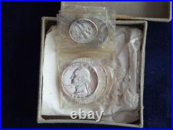 1950 Mint Proof Set / Opened Box / Slight toning on the silver coins