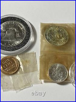 1950 US Silver Proof Set IN THE ORIGINAL PACKAGING No Box