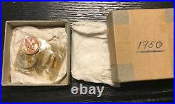 1950 Us Silver Proof Set 100% Original Still In Packaging And Box