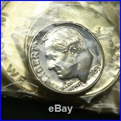 1953 1C-50C Proof Set Us Mint Silver In Originial Packaging & Box