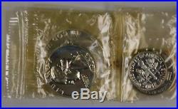 1953 Silver Proof Set ORIGINAL US MINT BOX ORIGINAL CELLOPHANE Check Pics