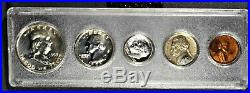 1953 US MINT SILVER PROOF SET in PLASTIC HOLDER withOriginal Box A8405