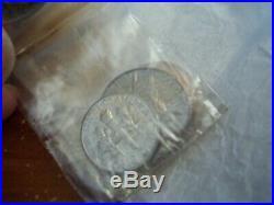 1953 Us Silver Proof Set 90% Silver Coins In Original Mint Box & Cello