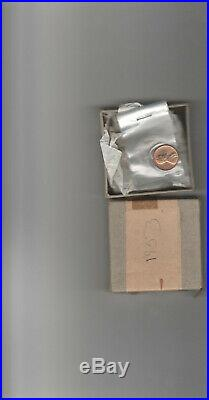 1953 Us Silver Proof Set 90% Silver Coins In Original Mint Box & Plastic