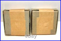 1954 & 1955 Original Unopened Mint Sealed Silver Boxed Proof Sets Rare