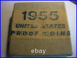 1955-P Silver U. S. Proof set / Boxed