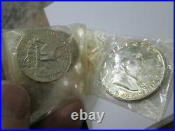 1955 US Mint Proof Silver Set ORIGINAL MINT PACKAGING NO BOX