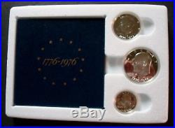 1976-s Rare Find Two Bicentennial Silver Proof Sets Sealed Mint Shipping Box