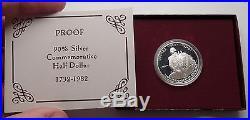 1982 George Washington Commemorative Proof Silver Half Dollar USA Coin Gift Box