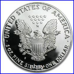 1986-S 1 oz Proof Silver American Eagle (withBox & COA) SKU #1088