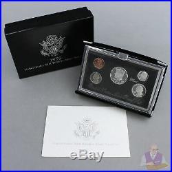 1992-1998 Premier Proof Set Run Original Box 90% Silver 7 Sets 35 Coins US Mint
