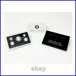 1992-1998 U. S. Silver Proof Sets Black Box (7 Sets)