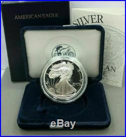 1994-P American Silver Eagle Proof 1oz Silver Proof Key Date with Box and COA