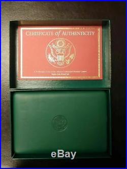 1995-1996 Proof Atlanta Olympic 8 Coin Silver Dollar Set with US Mint Box + COA