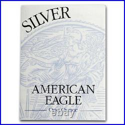 1995-P 1 oz Proof Silver American Eagle (withBox & COA) SKU #1069