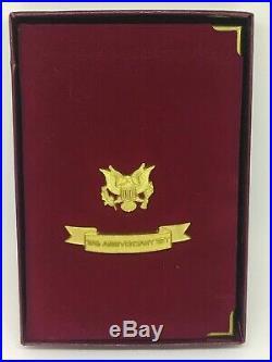 1995-W 10th Anniversary American GOLD & SILVER Eagle Proof Set Box