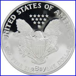 1995-W American Eagle 10th Anniversary Gold & Silver Proof Set with box & COA