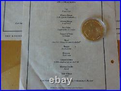1996 16 X Silver Proof Coin Box Set + 13 Coa's Queen Golden Wedding Pobjoy Mint
