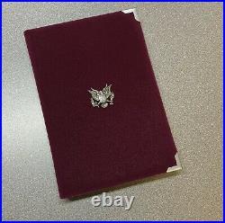 1996 Olympics Atlanta US Mint Prestige 90% Silver Proof Box Set with Box COA OGP