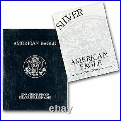 1996-P 1 oz Proof Silver American Eagle (withBox & COA) SKU #1067