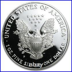 1998-P 1 oz Proof Silver American Eagle (withBox & COA) SKU #1063