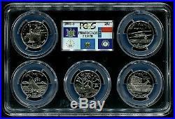 1999-2008 S Silver State Quarter 50 Coin Proof Set PCGS PR69 DCAM 25C PCGS BOX