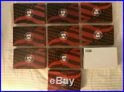 1999 2008 US MINT SILVER PROOF SETS (10-Set Lot) in Original Boxes with COA