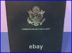 1999-2008 U. S. Mint Silver Proof Set 10 Year, withBox includes Statehood Quarters