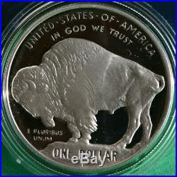 2001 P American Buffalo Proof Silver Dollar US Commemorative Coin Only No Box