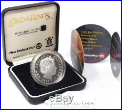 2003 Lord of the Rings Silver Proof 1oz. 925 BOX + COA