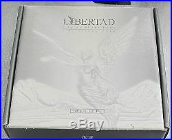 2003 Rare! Mexico 1 Kilo Silver 999 Libertad Proof- Like De Plata Pura Box