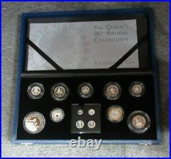 2006 EIIR BIRTHDAY SILVER PROOF COLLECTION INC MAUNDY -Box &COA