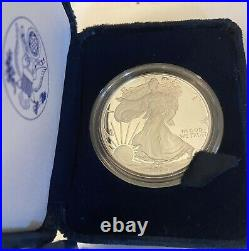 2006-W 1 oz Proof American Silver Eagle (withBox & COA).