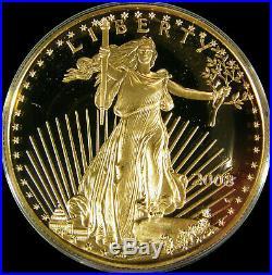 2008 W American Gold Eagle 4 Coin Proof Set w Box COA Platinum Silver Palladium