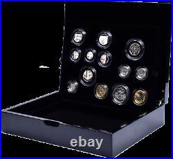 2010 Royal Mint UK Silver Proof Coin Executive Collectors Box Set + COA