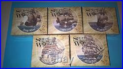 2011-12 Ships That Change The World Proof Silver Coin Set. 3 boxes never opened