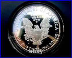 2011 American Silver Eagle 25th Anniversary 5 Coin Set Box/COA, P Reverse Proof
