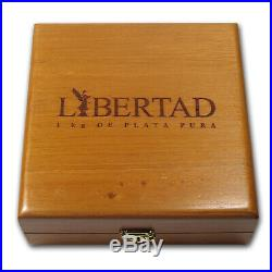 2011 Mexico 1 kilo Silver Libertad Proof Like (withBox & COA) SKU #60600