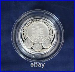 2011 Silver Piedfort Proof 6 coin Set in Case with COA & Outer Box (L4/40)