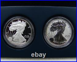 2012S American Eagle San Francisco Two Coin Silver Proof Sets From Sealed Box