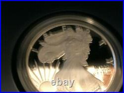 2012S American Silver Eagle Two Coin Silver Proof & Reverse Set with Box/COA Fresh
