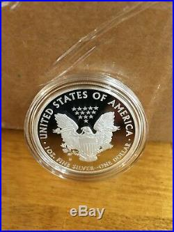 2012 American Eagle San Francisco Two Coin Silver Proof Set With Box & CoA