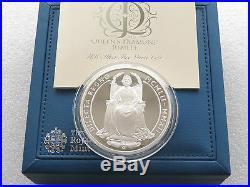 2012 Diamond Jubilee £10 Ten Pound Silver Proof 5oz Coin Box Coa