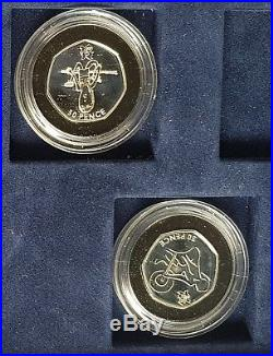 2012 ROYAL MINT LONDON OLYMPICS 26 SILVER PROOF FIFTY PENCE PIECE 50p SET BOXED