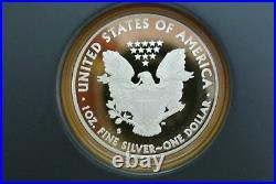2012-S American Eagle San Francisco 2-Coin Silver Proof Set with Box/CoA