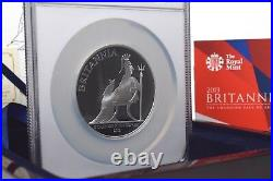 2013 Britannia First Strike 5oz Silver Proof Ultra Cameo NGC Slab BOX + COA