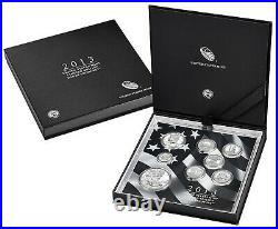 2013 United States Mint Limited Edition Silver Proof 8 Coin Set with Box + COA