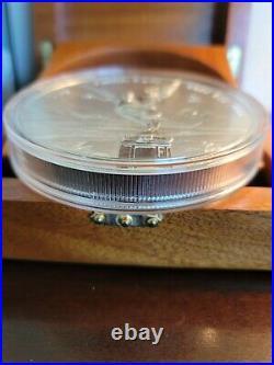 2015 1 Kilo Proof Mexican Silver Libertad Coin (Box + CoA)